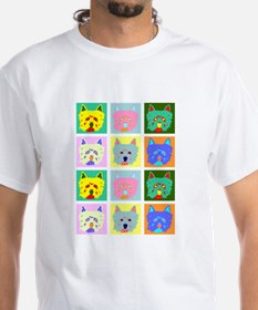 Colorful West Highland Terrier Shirt