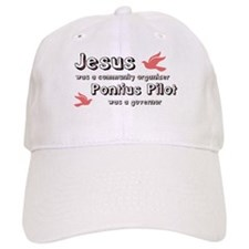 Jesus was a community organiz Baseball Cap