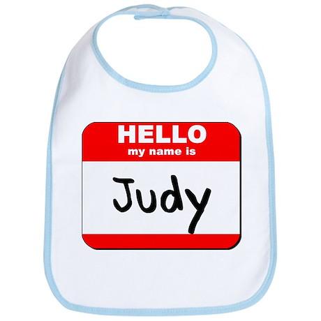 Hello my name is Judy Bib