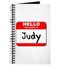 Hello my name is Judy Journal
