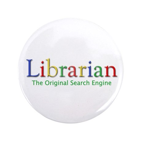 "Librarian 3.5"" Button (100 pack)"