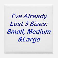 Already Lost 3 Sizes Tile Coaster