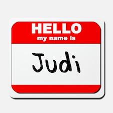 Hello my name is Judi Mousepad