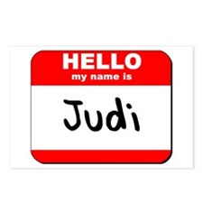 Hello my name is Judi Postcards (Package of 8)