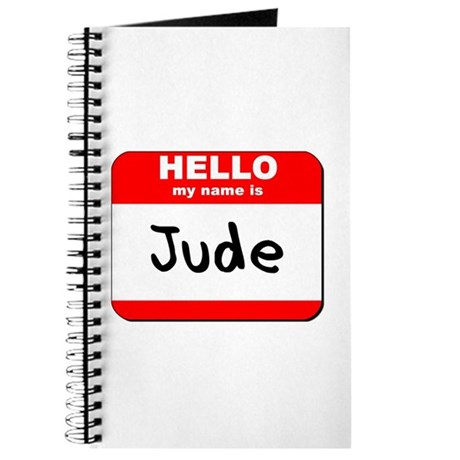 Hello my name is Jude Journal