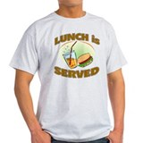 School lunch Light T-Shirt