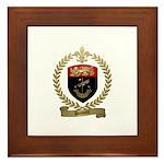 DUMONT Family Crest Framed Tile