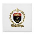 DUMONT Family Crest Tile Coaster