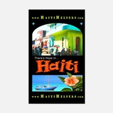 'Hope in Haiti' Rectangle Decal
