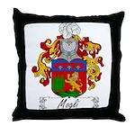 Mogli Family Crest Throw Pillow