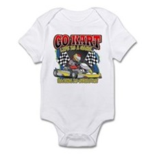 Go Kart Life Infant Bodysuit