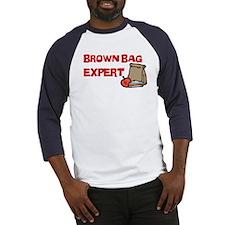 Brown Bag Expert Baseball Jersey