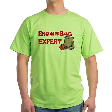 Brown Bag Expert Green T-Shirt