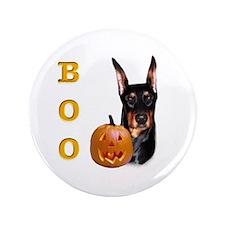 "Dobie Boo 3.5"" Button"