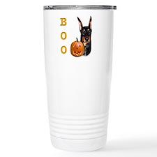 Dobie Boo Ceramic Travel Mug
