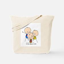 Stick & Bags Baby Tote Bag