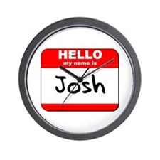 Hello my name is Josh Wall Clock