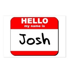 Hello my name is Josh Postcards (Package of 8)