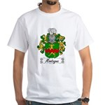 Montagna Family Crest White T-Shirt