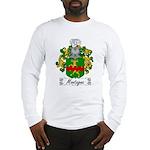 Montagna Family Crest Long Sleeve T-Shirt