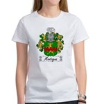Montagna Family Crest Women's T-Shirt