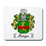 Montagna Family Crest Mousepad