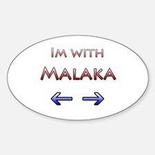 Malaka Oval Decal