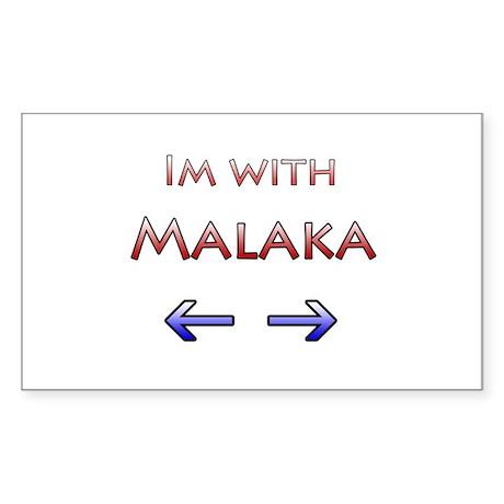 Malaka Rectangle Sticker
