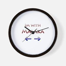 Malaka Wall Clock