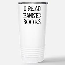 I Read Books Travel Mug