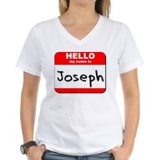 Hello my name is Joseph Shirt