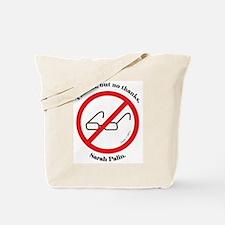 No Palin Zone Tote Bag