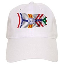 Wavy Tampa Flag Baseball Cap