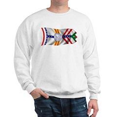 Wavy Tampa Flag Sweatshirt