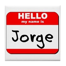 Hello my name is Jorge Tile Coaster