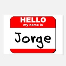 Hello my name is Jorge Postcards (Package of 8)