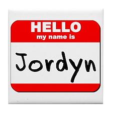 Hello my name is Jordyn Tile Coaster