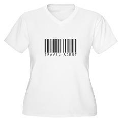Travel Agent Barcode T-Shirt