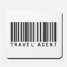 Travel Agent Barcode Mousepad