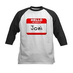 Hello my name is Joni Tee