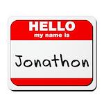 Hello my name is Jonathon Mousepad