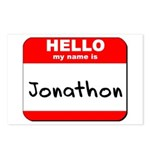 Hello my name is Jonathon Postcards (Package of 8)