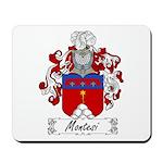 Montesi Family Crest Mousepad