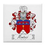 Montesi Family Crest Tile Coaster