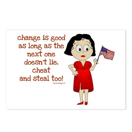 Change is Good Postcards (Package of 8)