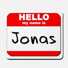 Hello my name is Jonas Mousepad