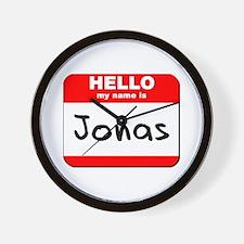 Hello my name is Jonas Wall Clock