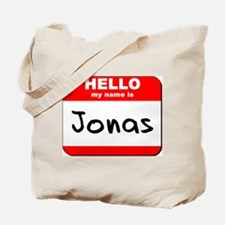 Hello my name is Jonas Tote Bag