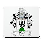 Monti Family Crest Mousepad