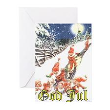 """God Jul"" Swedish Christmas Cards"